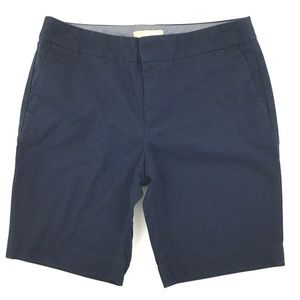 Banana Republic Hampton Fit Shorts Women 6 Blue